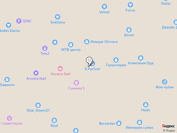 585 GOLD на карте Чебоксар