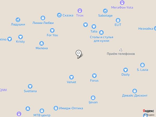 Фабрика Москва на карте Чебоксар