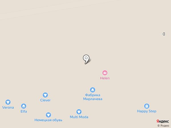 Элегант на карте Чебоксар