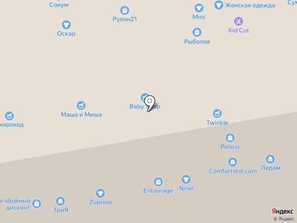 Магазин одежды для будущих мам на карте Чебоксар