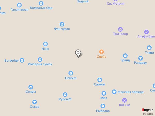 ЭльБрус на карте Чебоксар