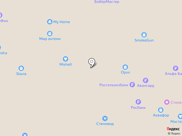Рич-художник на карте Чебоксар