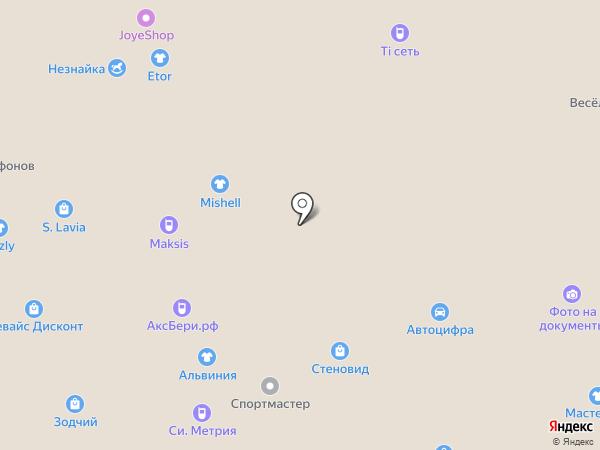 СтеноВид на карте Чебоксар