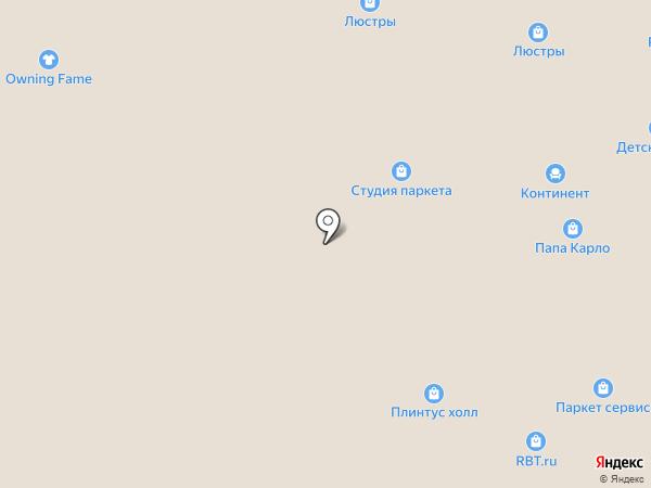 Deluxe на карте Чебоксар