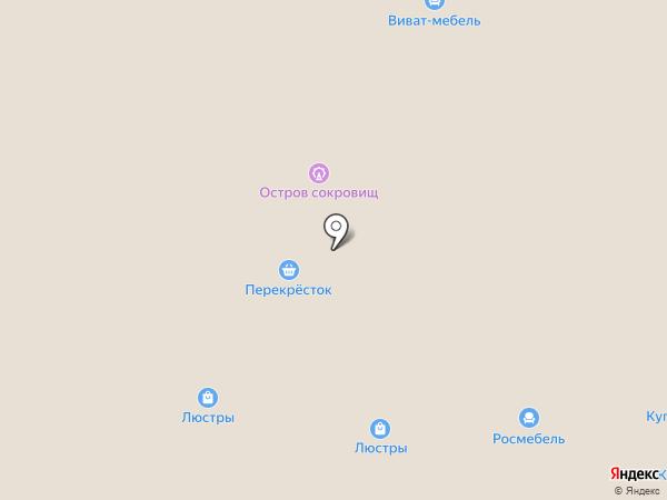 Много мебели на карте Чебоксар
