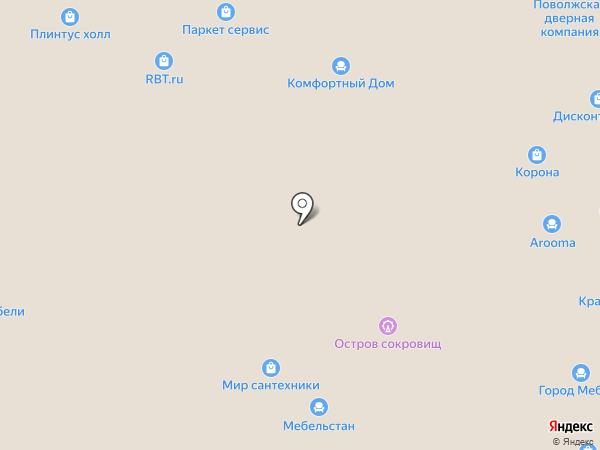 Папа Карло на карте Чебоксар