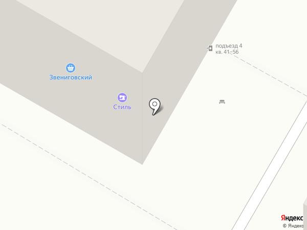 Стиль на карте Чебоксар