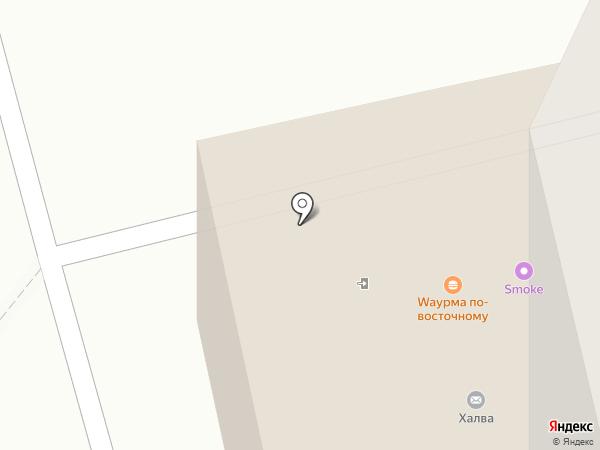 Киоск по продаже фастфудной продукции на карте Чебоксар
