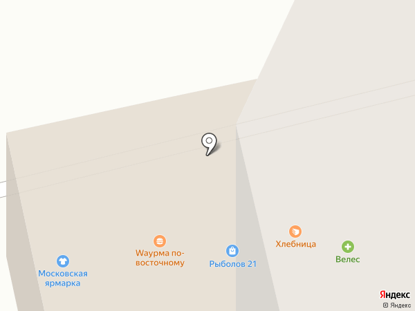 Хлебница на карте Чебоксар