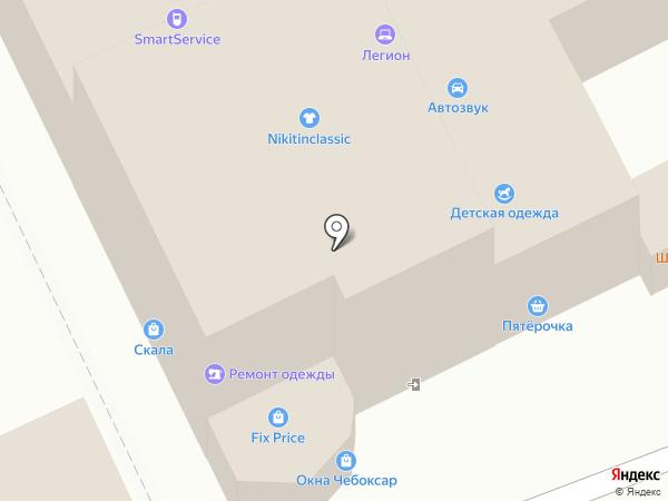 Магазин игрушек и поделок ручной работы на карте Чебоксар