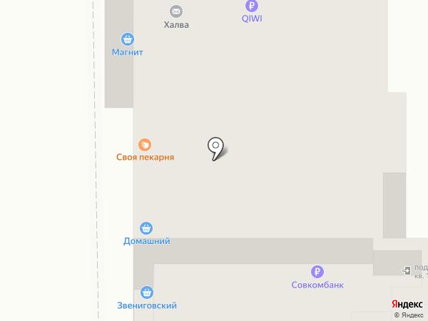 Домашний на карте Чебоксар