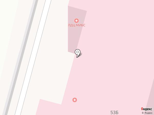 Вторая городская больница на карте Чебоксар