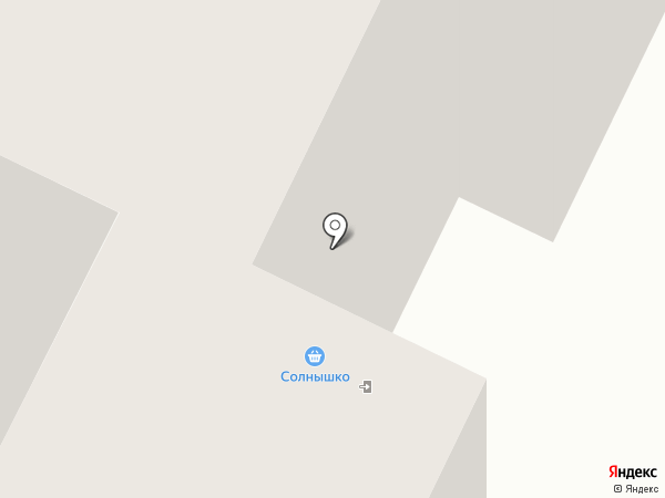Солнышко на карте Чебоксар