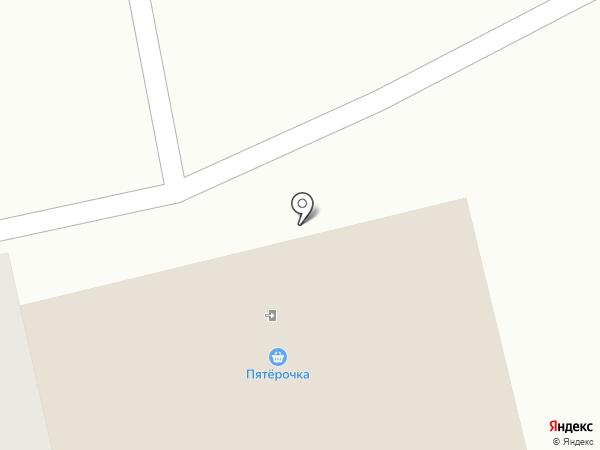 Пятёрочка на карте Чебоксар