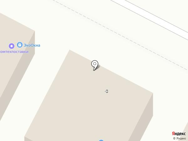 Терминал-ТК на карте Чебоксар
