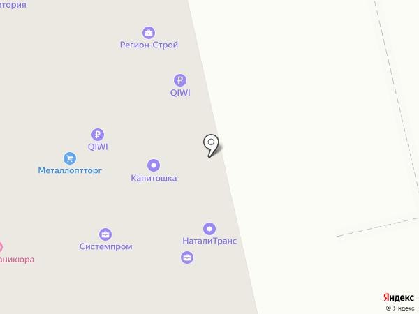 Погребок на карте Чебоксар