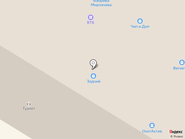 Двери Зодчий на карте Чебоксар