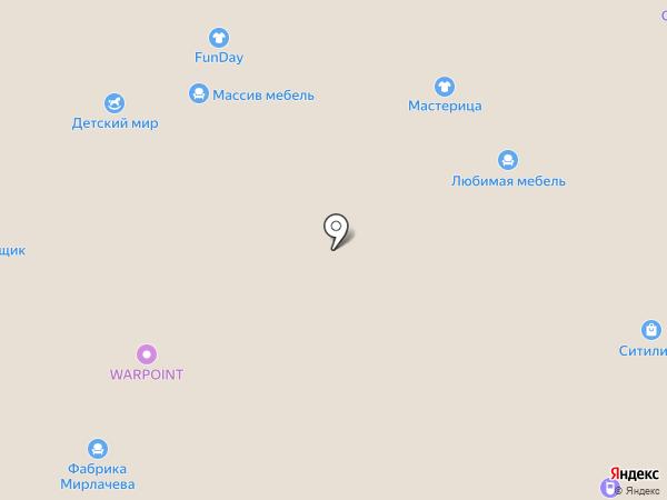 Лока на карте Чебоксар
