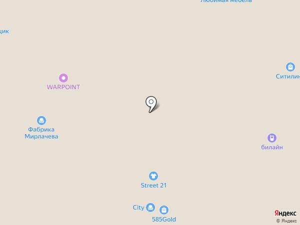 Ода на карте Чебоксар