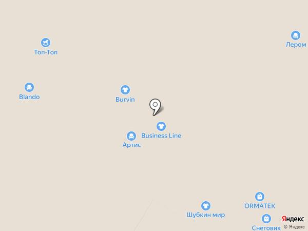 Burvin на карте Чебоксар