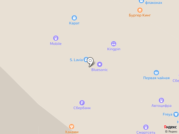 Redmond на карте Чебоксар