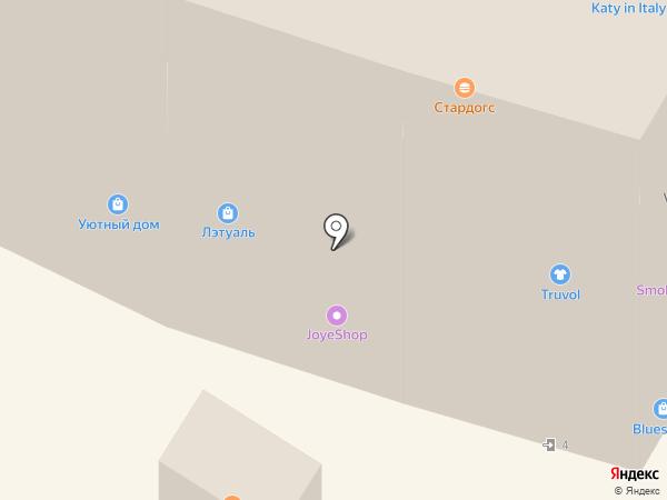Цветной на карте Чебоксар
