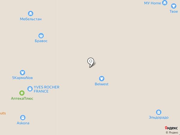 Belwest на карте Чебоксар