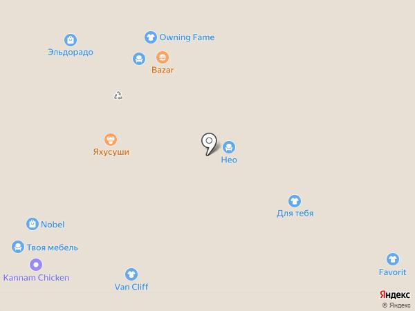 NEOкухни на карте Чебоксар