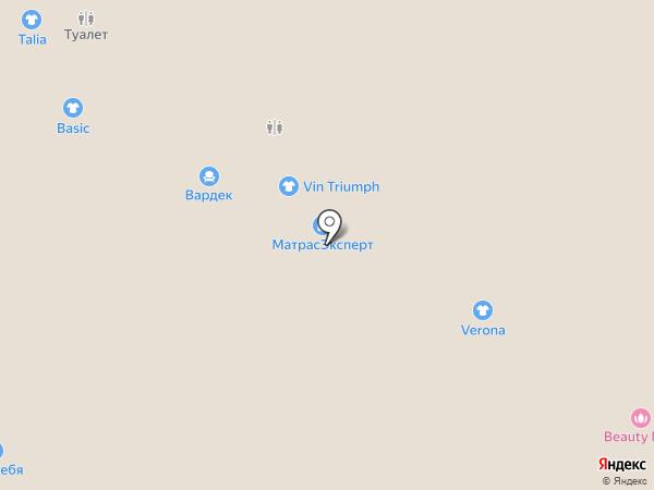 Орматек на карте Чебоксар
