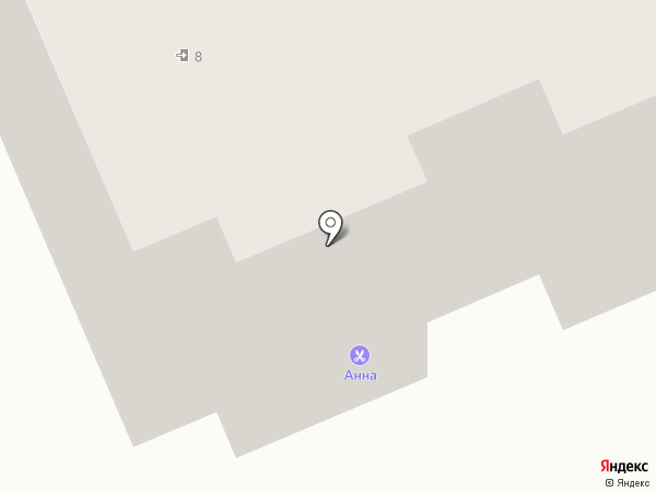 Анна на карте Чебоксар