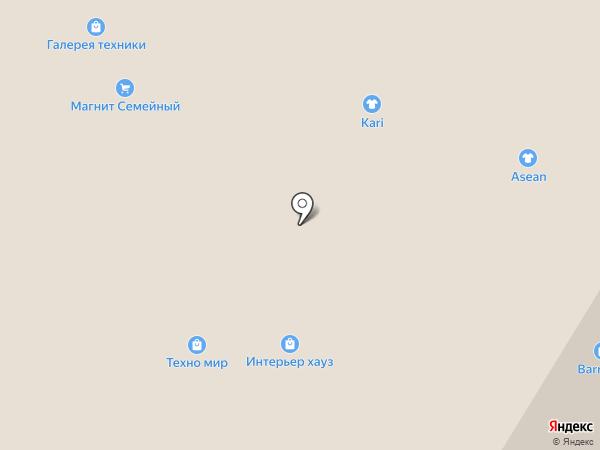 Галерея штор на карте Чебоксар