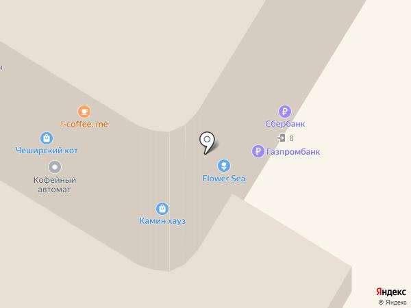 Цветочный магазин на карте Чебоксар