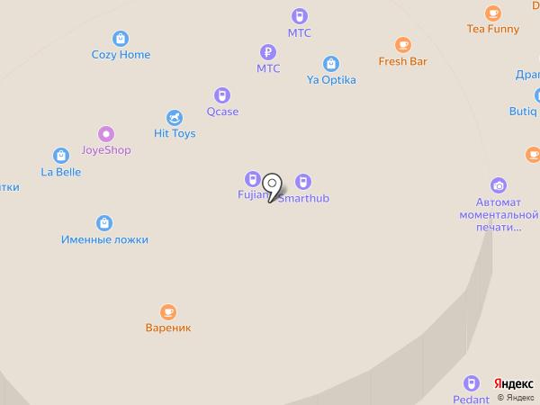 Айком на карте Чебоксар