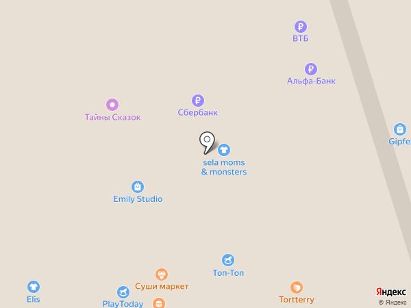 Sela на карте Чебоксар