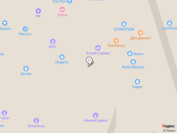 Qcase на карте Чебоксар