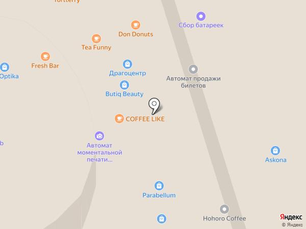 Яхонт на карте Чебоксар