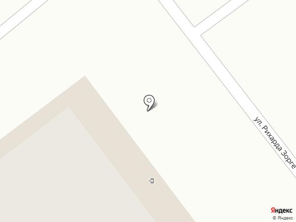 Иголочка на карте Чебоксар