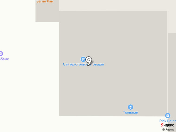 Стройник на карте Чебоксар