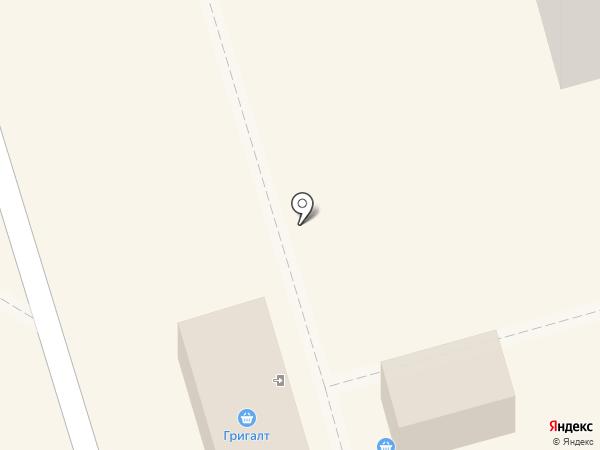 Тригалт на карте Чебоксар