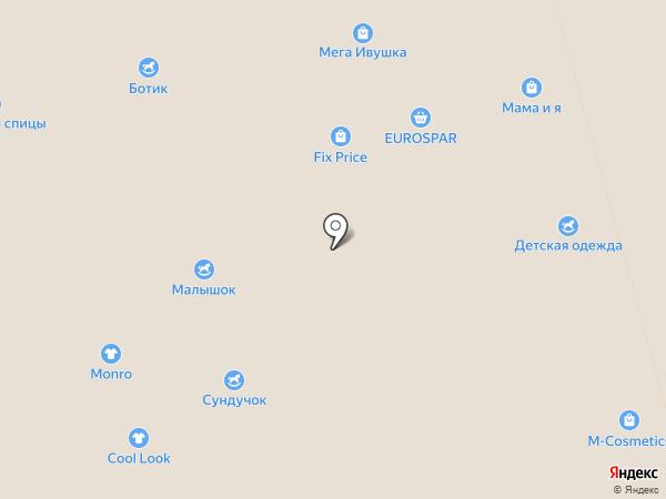Бегемотик на карте Чебоксар