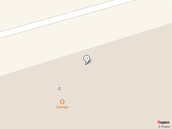 Крепыш на карте Чебоксар