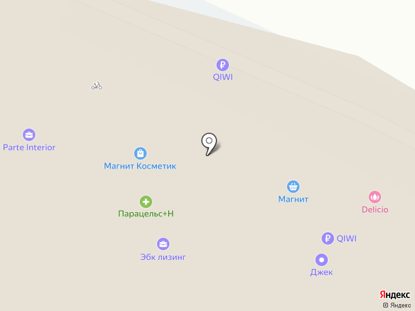 Фотикс на карте Чебоксар