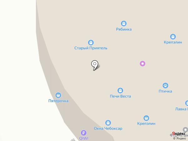 Компания по продаже и производству торгового оборудования на карте Чебоксар