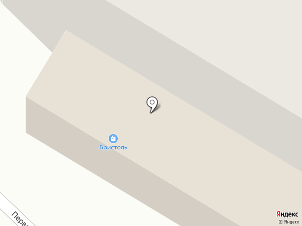 Бристоль на карте Кугесей