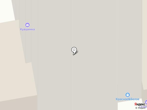 Кувшинка на карте Чебоксар