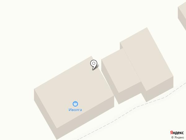 Иволга на карте Кугесей
