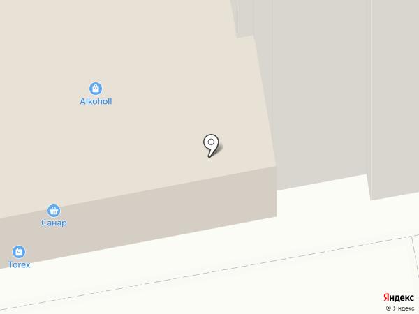 Графиньия на карте Чебоксар