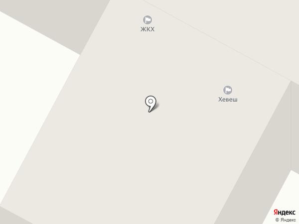 Жилкомцентр на карте Кугесей