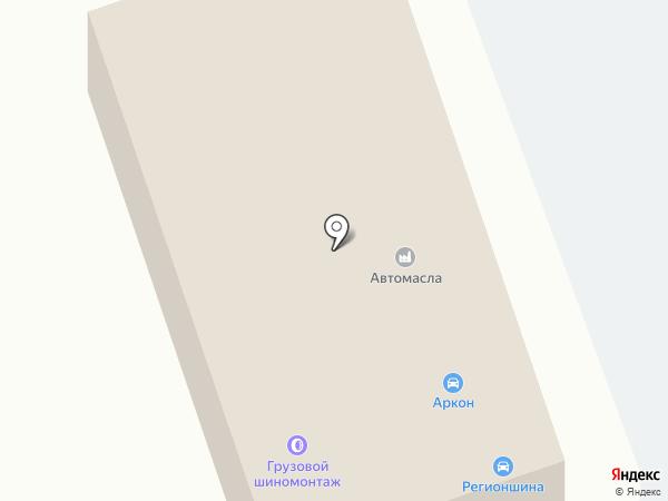 Аркон на карте Кугесей