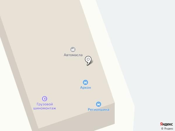 Центр шиномонтажа на карте Кугесей